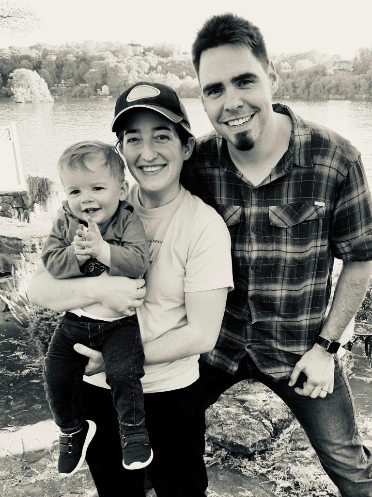 Teresa and Wes with their son Max