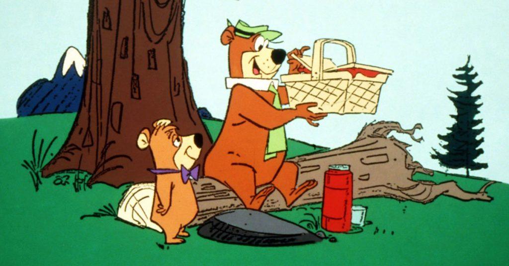 Yogi Bear was a famous saturday morning cartoon from the 60s