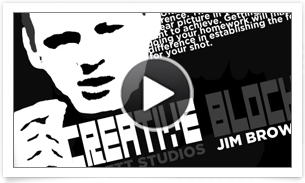 Tip JimBrown video template Jim Brown    Tippett Studio