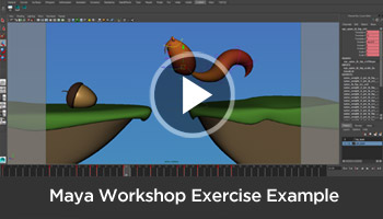 Maya Tutorial | Animation Workshop | Animation Mentor