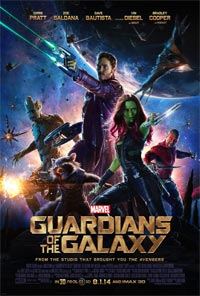 ILM Guardians Galaxy Poster Ross Norcross