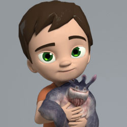 AM Rig Kyle Animation Characters