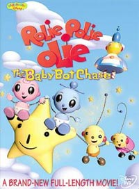 Disney Rolie Polie Olie Baby Bot Chase Dana Boadway Masson