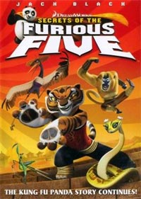 DreamWorks Kung Fu Panda Secrets Furious Five Dave Vallone