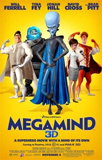 DreamWorks Megamind Jeff Joe