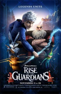 DreamWorks Rise Guardians Drew Adams
