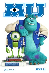 Pixar Monsters University Anthony Wong