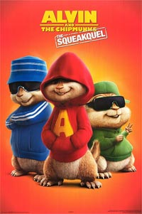 Sony Alvin Chipmunks Squeakquel Alan Rogers