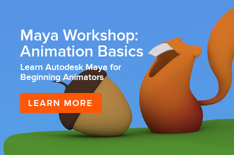 Animation Mentor Maya Workshop