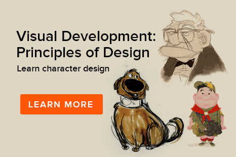 Animation Mentor Visual Development: Principles of Design Workshop