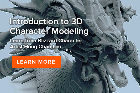 Animation Mentor Intro to 3D Character Modeling Workshop